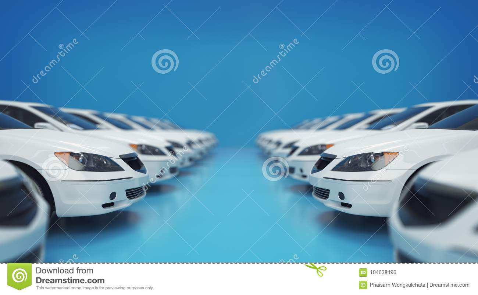 Download Auto Voor Verkoop Nieuwe Voorraad Stock Illustratie - Illustratie bestaande uit kleurrijk, macht: 104638496