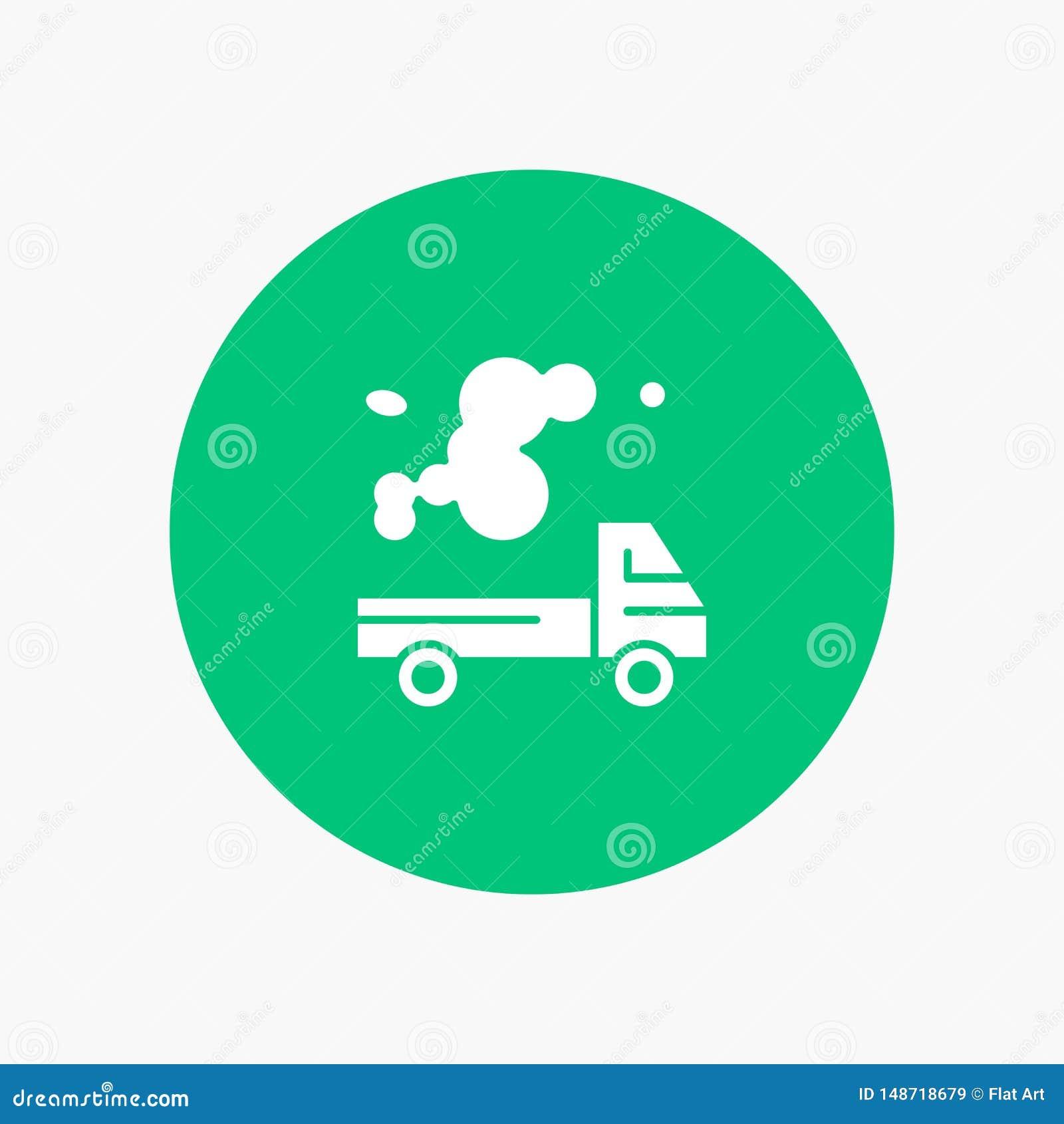 Auto, Vrachtwagen, Emissie, Gas, Verontreiniging