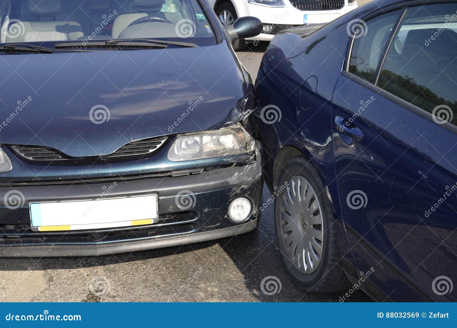 Auto wypadek samochodowy