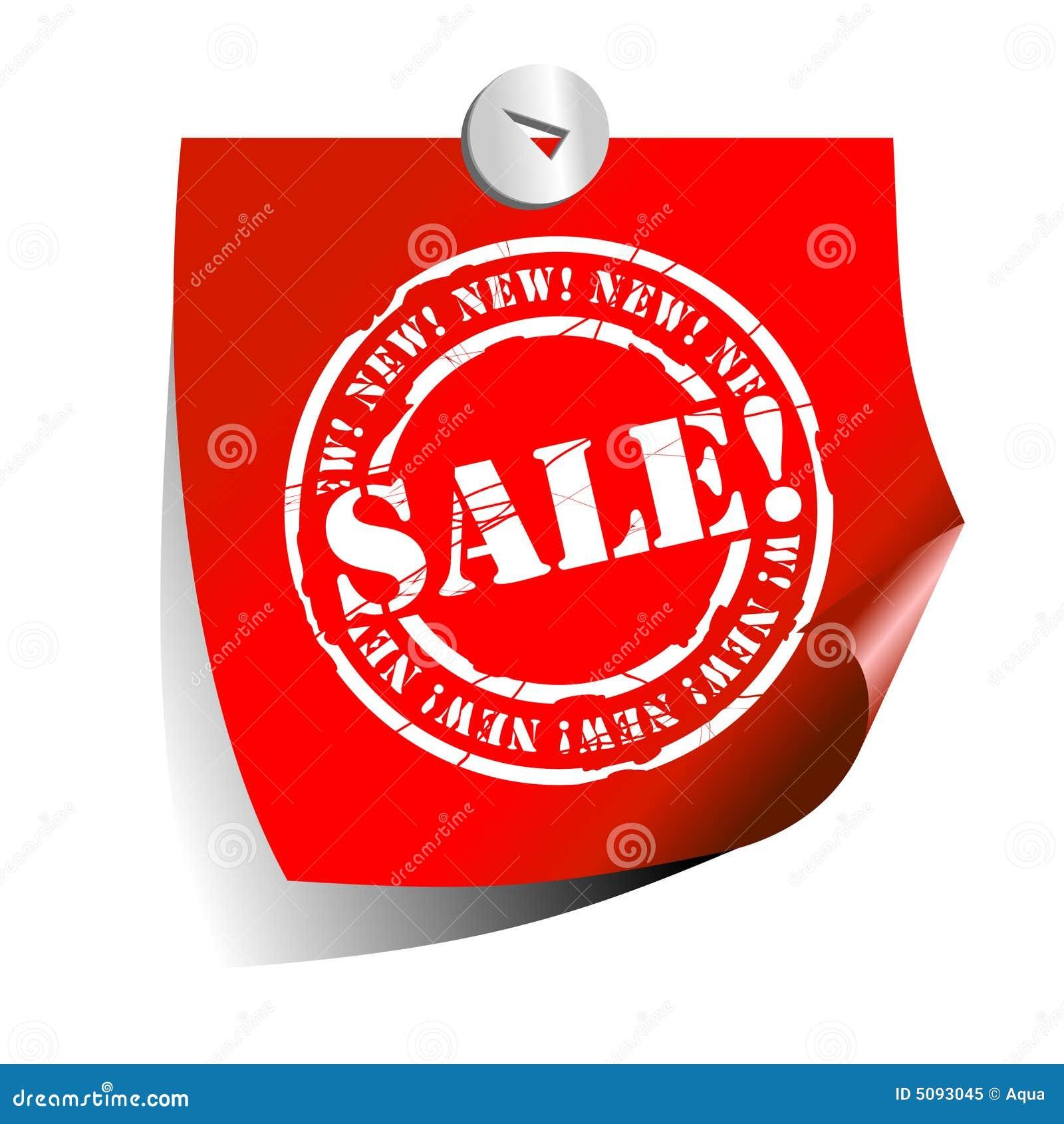Autoadesivo di vendita