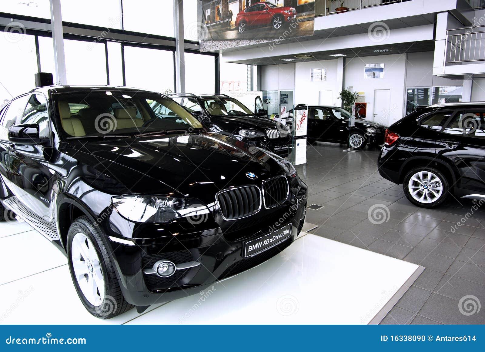 Autoausstellungsraum