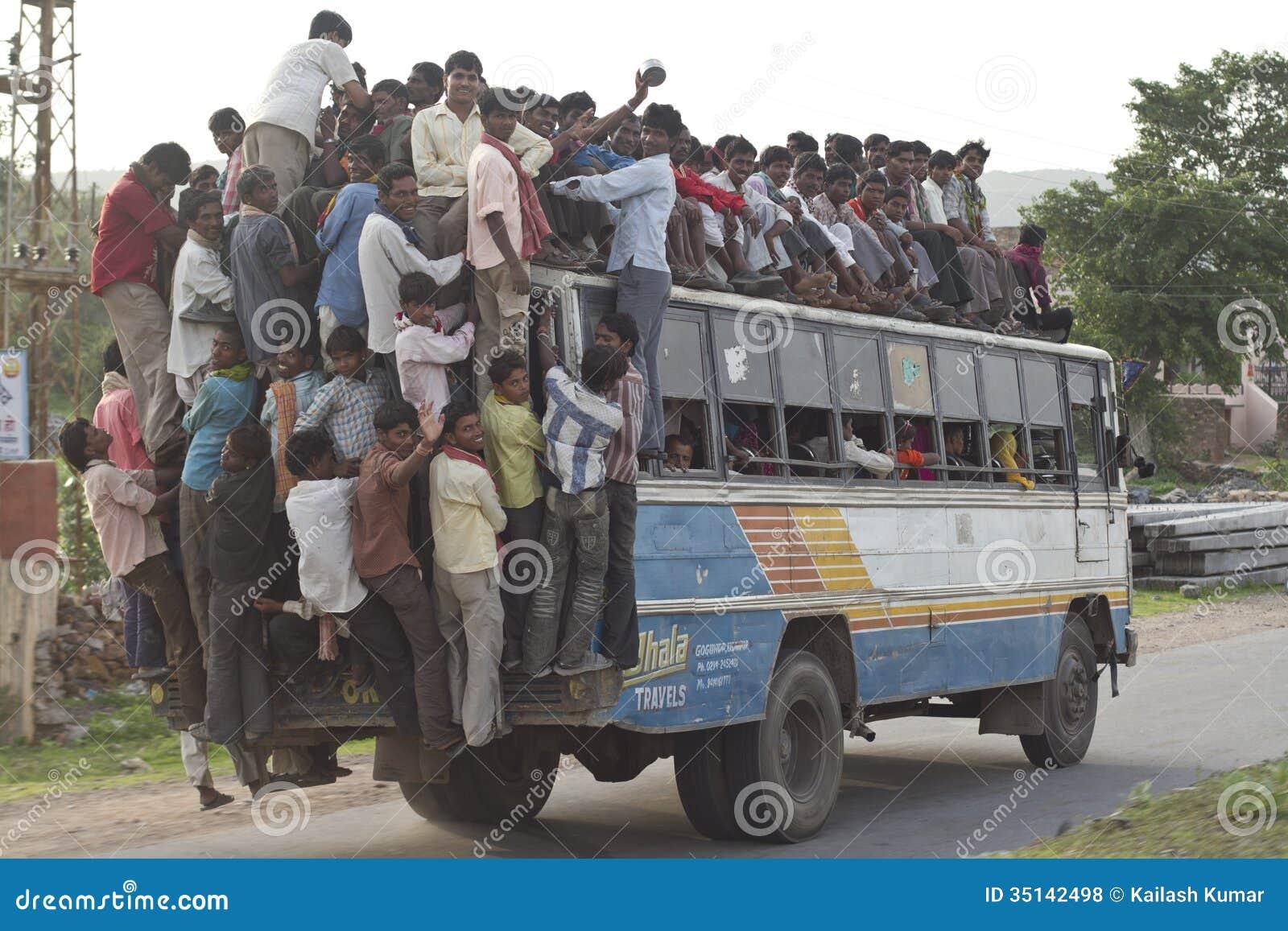 Autobús de la sobrecarga