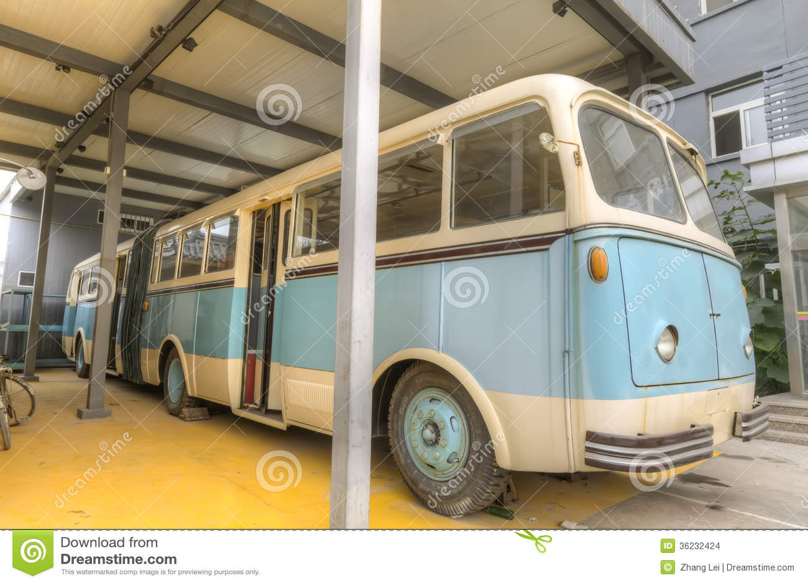 Autobús viejo