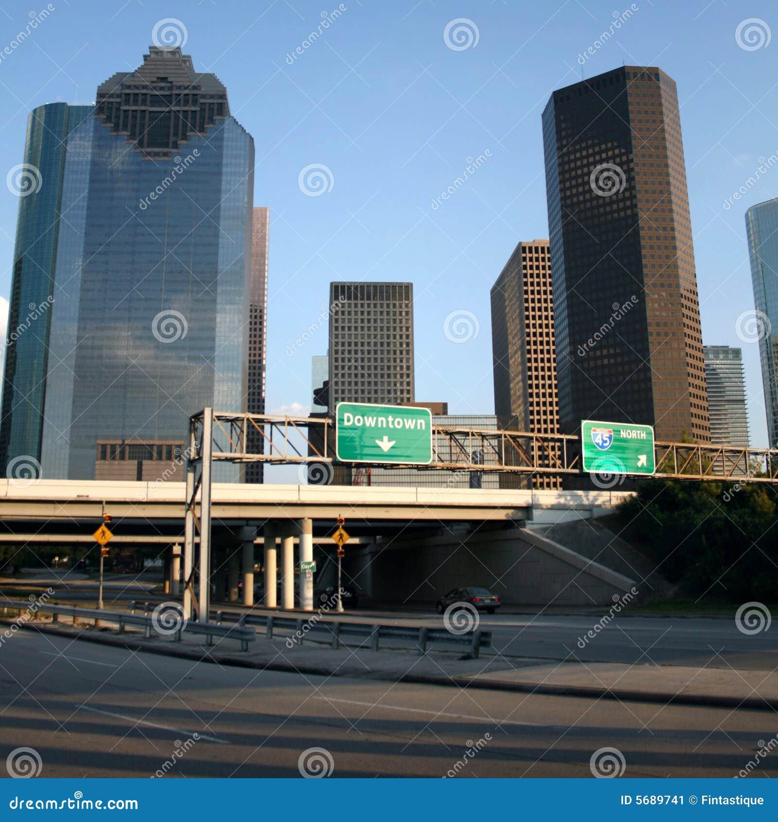 Autobahn nach Houston