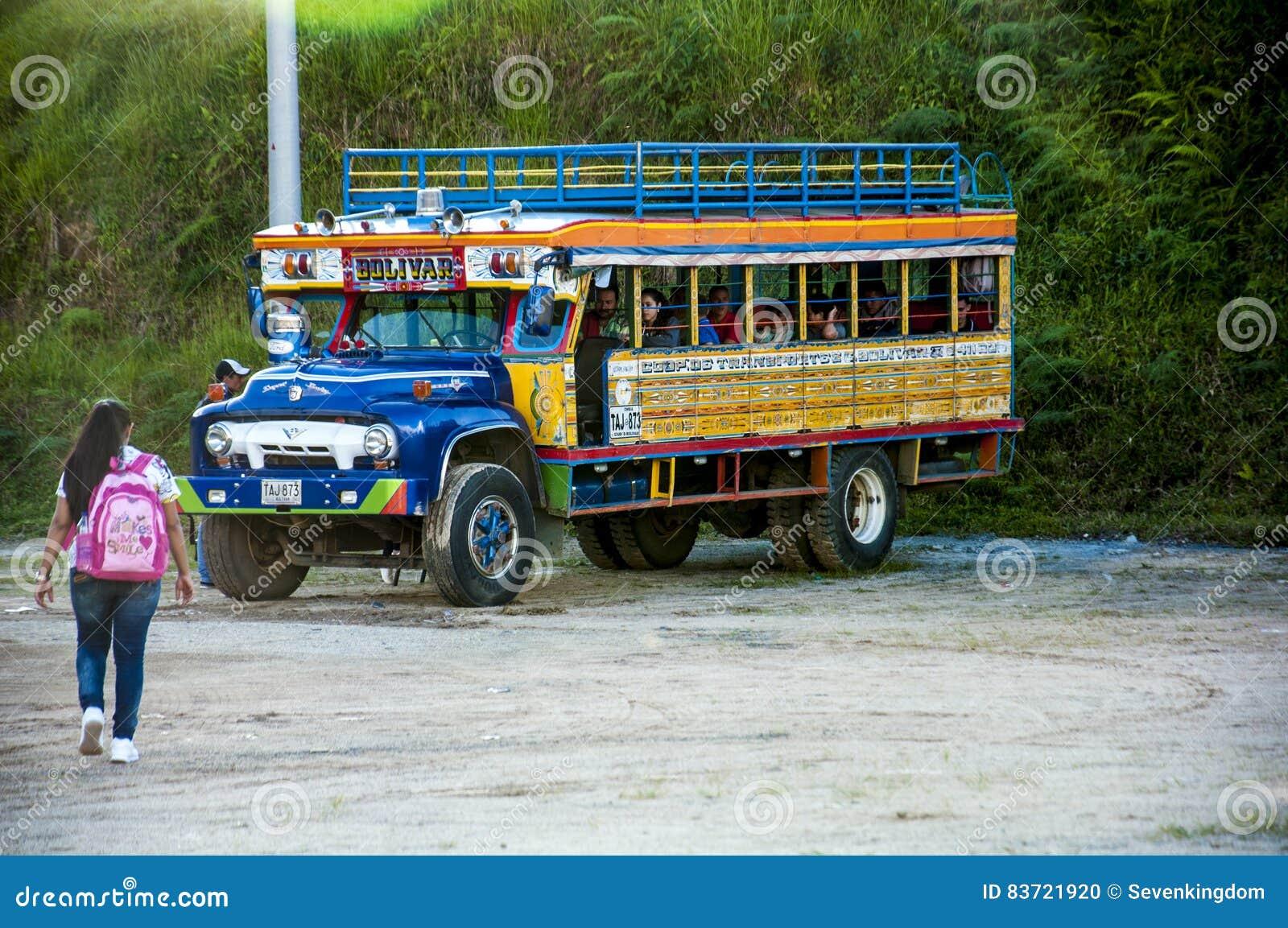 Autobus coloré de Chiva