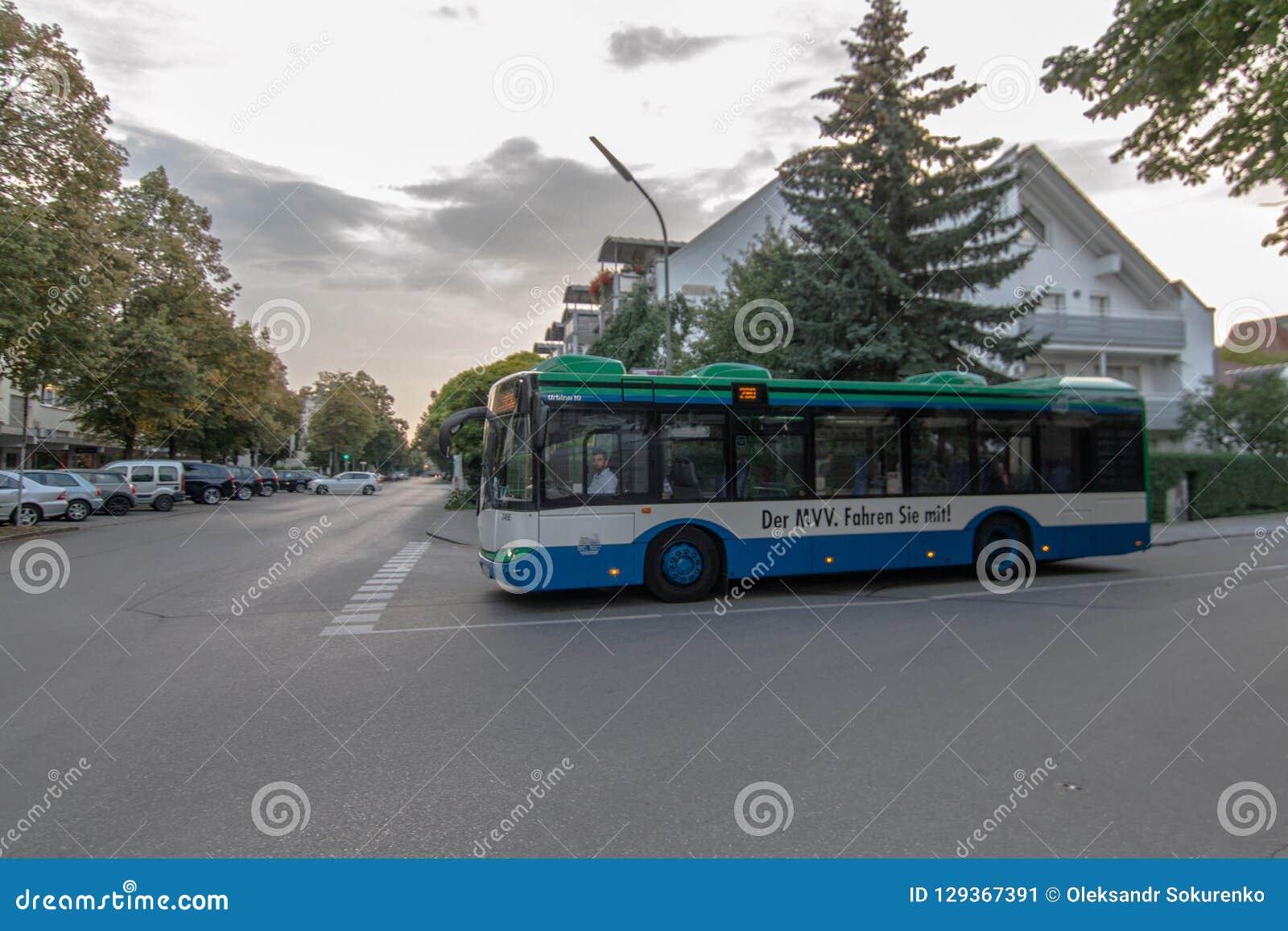 Autobus public à Munich