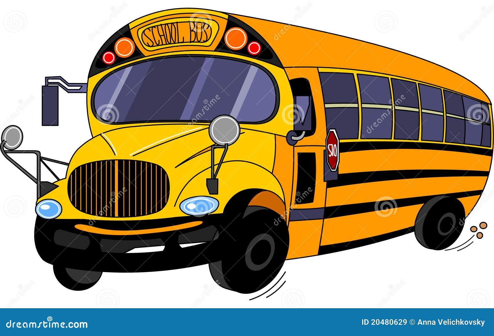 Autobus scolaire illustration de vecteur image du - Autobus scolaire dessin ...