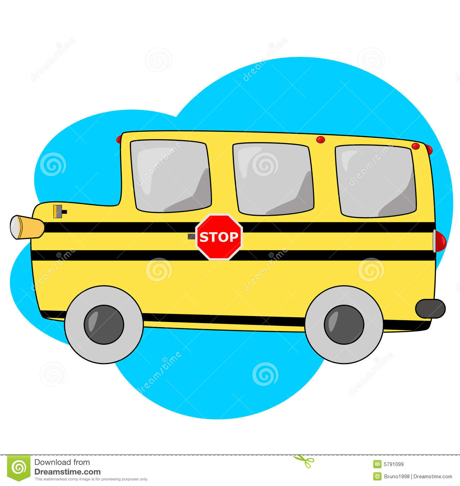 Autobus Scolaire Illustration De Vecteur Illustration Du