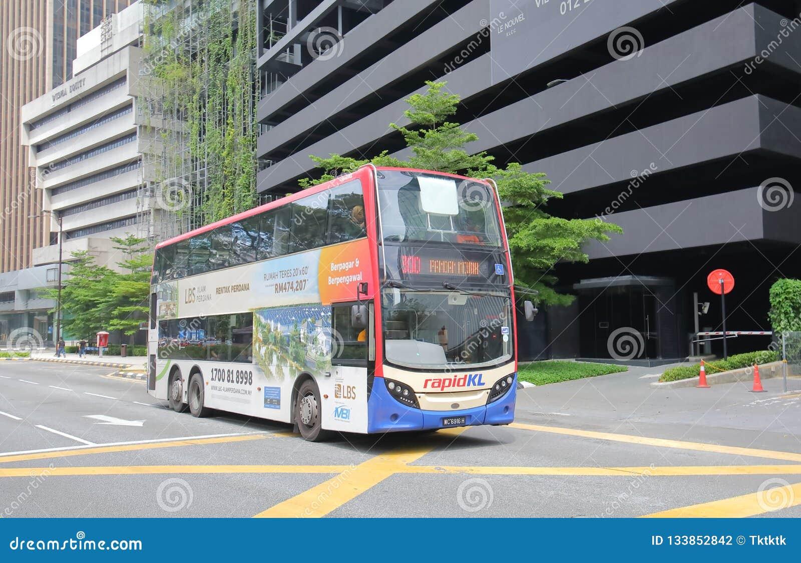 Autobusowy transport publiczny Kuala Lumpur Malezja