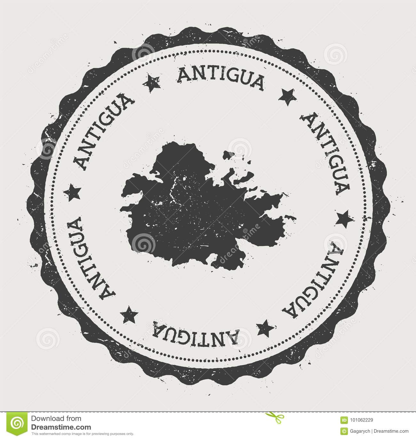 Autocollant de l Antigua