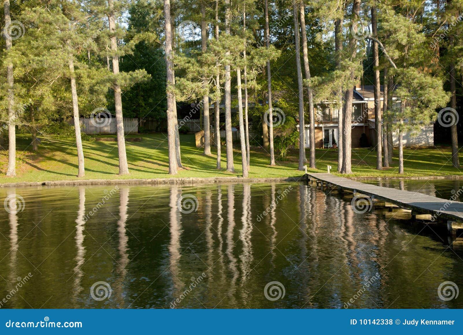 Autoguidez le bord du lac