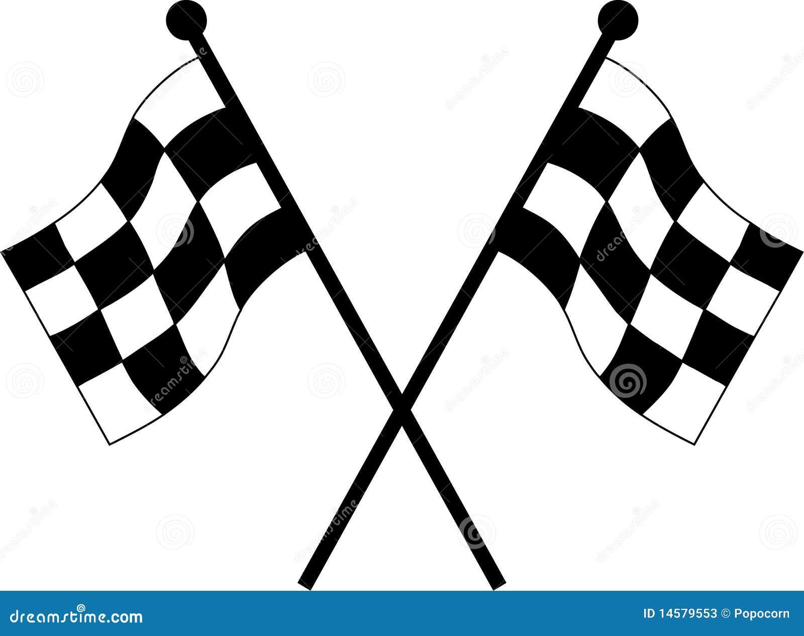 Autolaufenmarkierungsfahnen