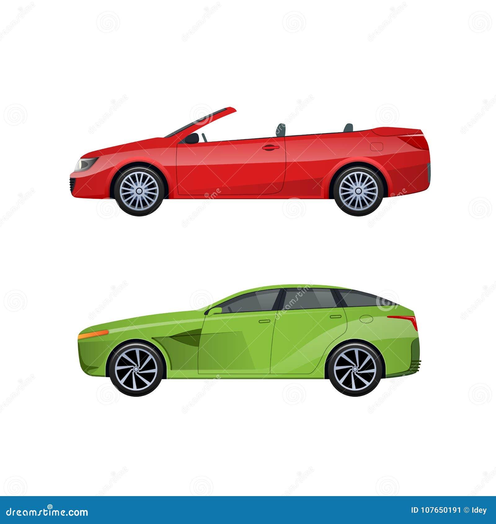 Automóveis de passageiros modernos para famílias, viagens longas, curso, bagagem do transporte