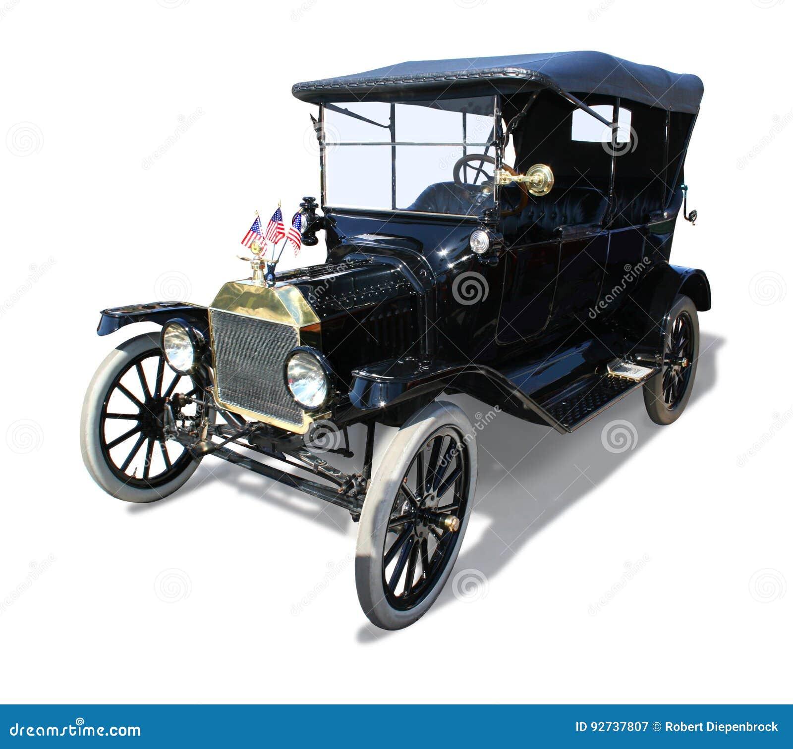 Automóvel antigo do modelo-T