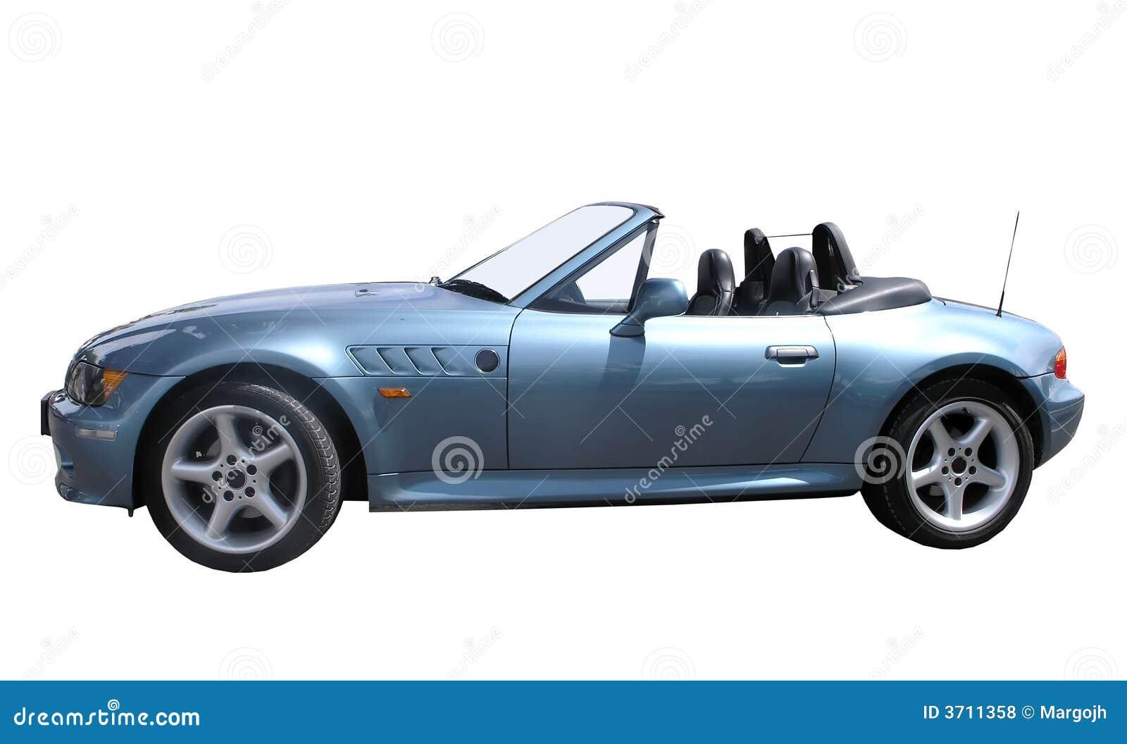 Automóvil descubierto de BMW Z3