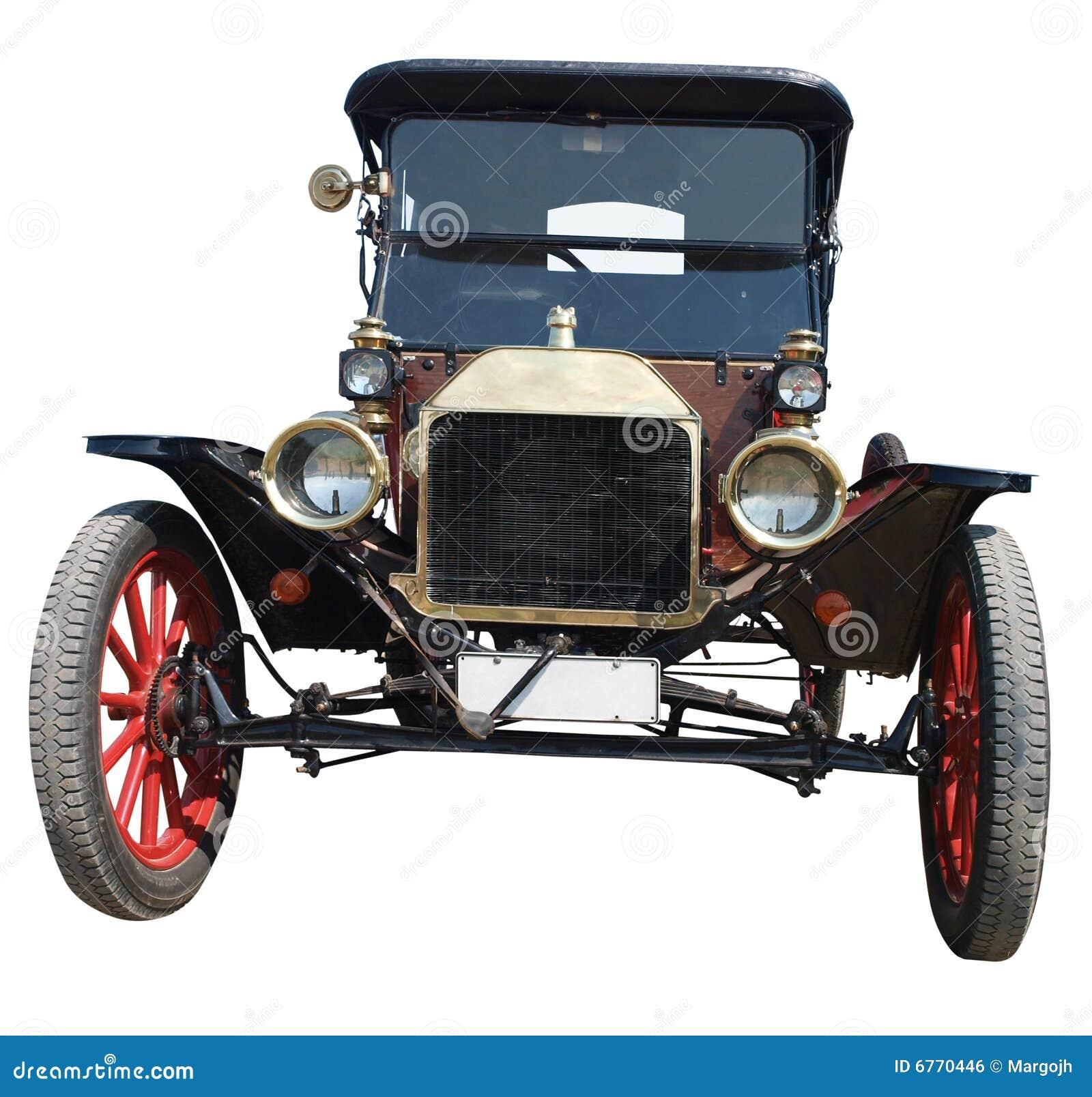 Automóvil descubierto modelo 1913 de Ford T
