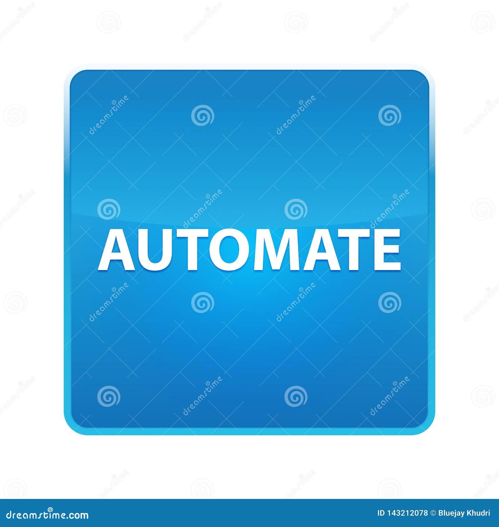 Automate shiny blue square button