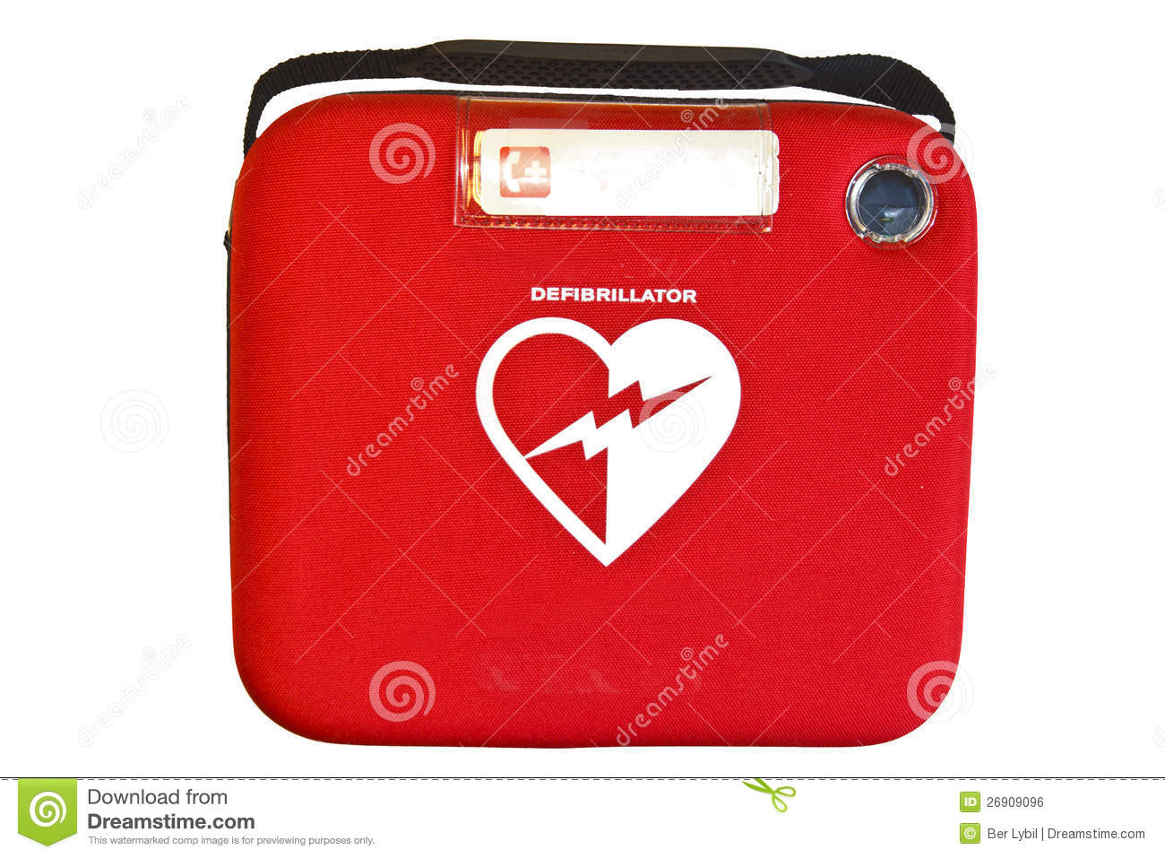 a description of automated external defibrillator Cpr and automated external defibrillators (child, up to age 1 year) cpr ( cardiopulmonary resuscitation) is used when a baby isn't breathing it is also  used.
