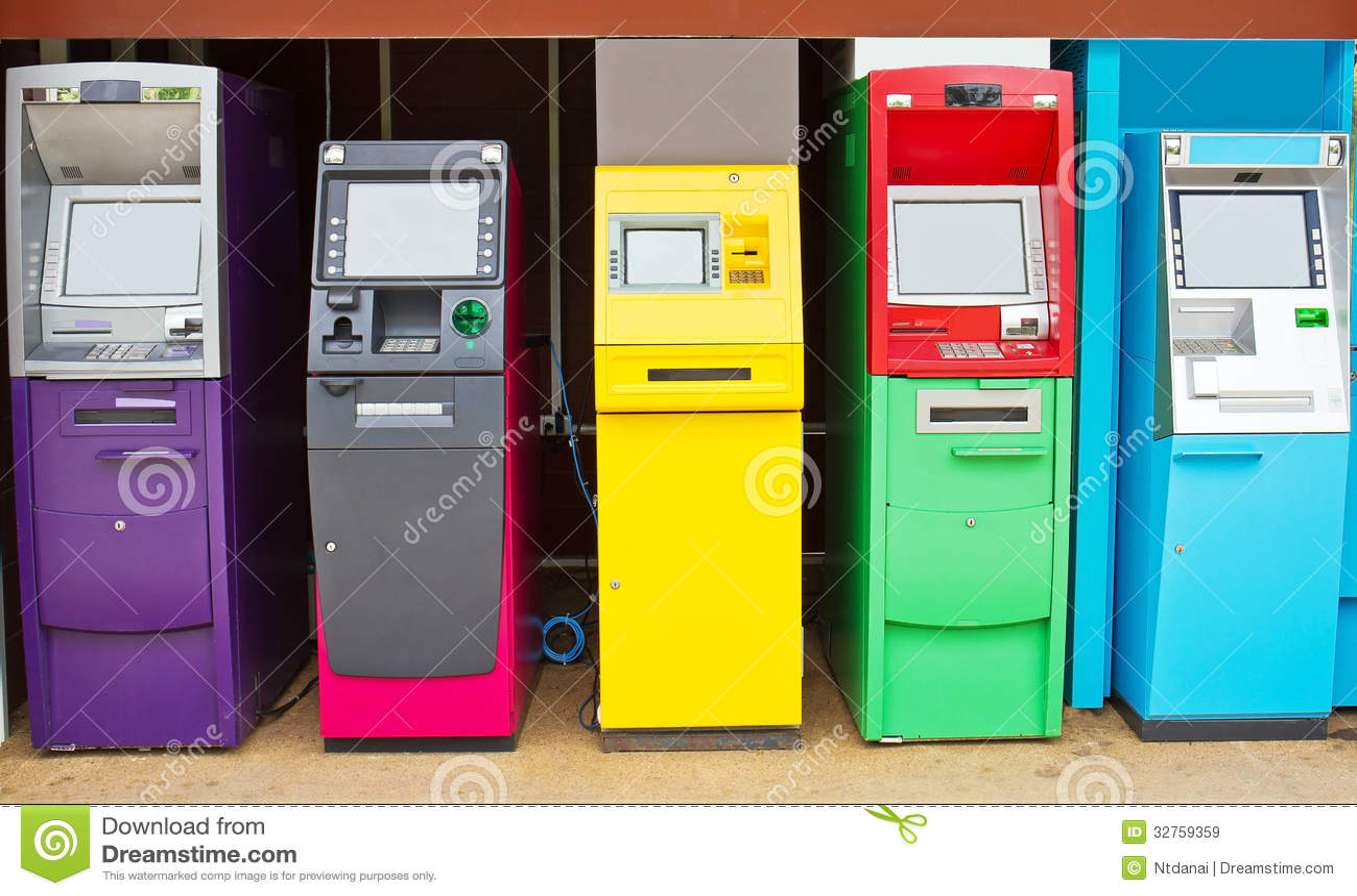 automated teller machine Acronym definition atm: automated teller machine: atm: asynchronous transfer mode (broadband switching and transmission technology) atm: automatic teller machine: atm: air traffi.