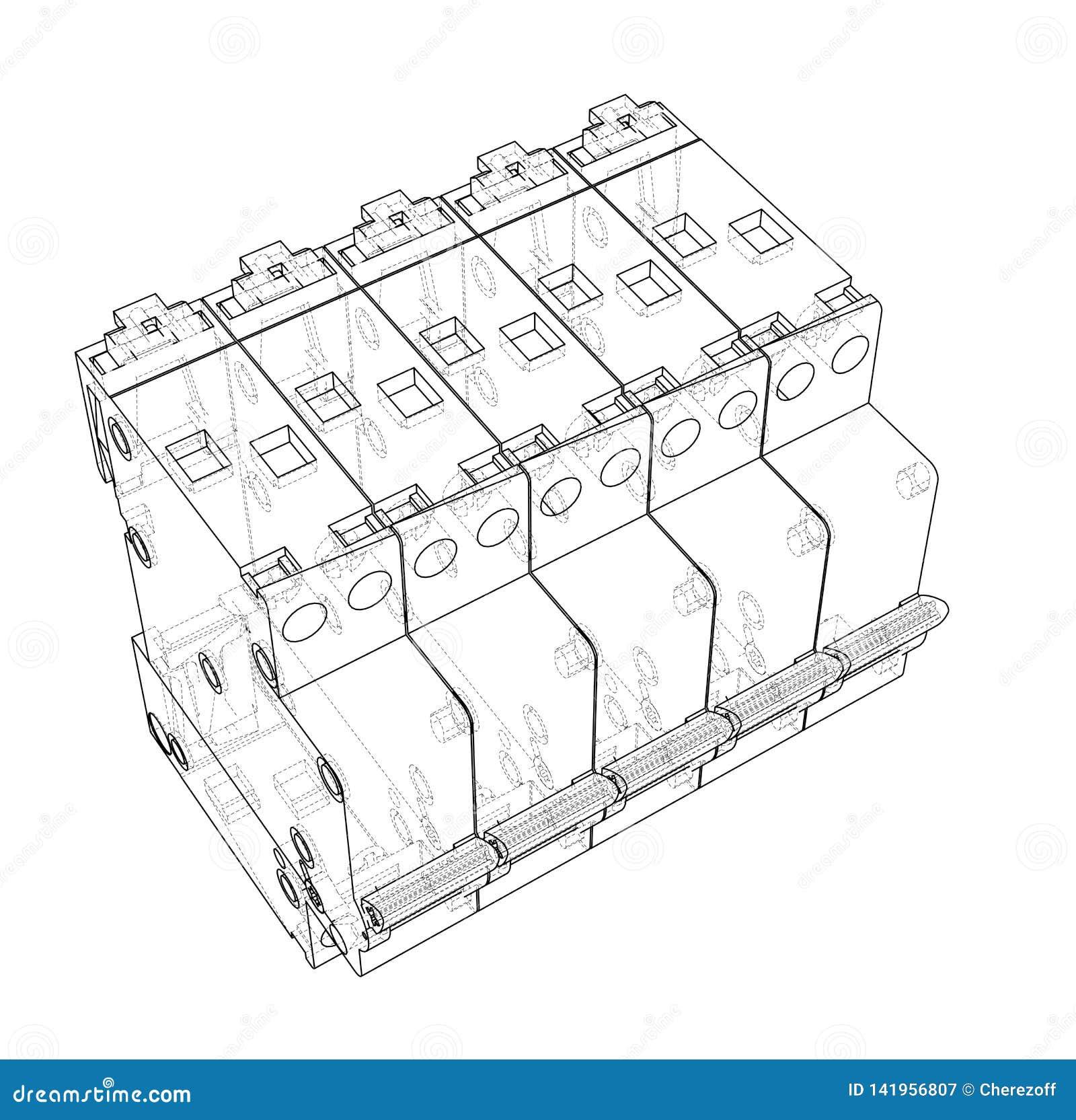 Automatic Switcher Circuit Diagram