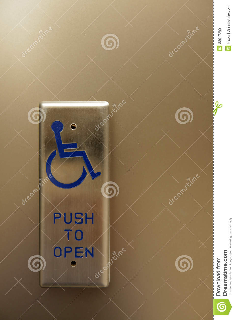 Automatic Door Opener For Wheelchair Accessibility