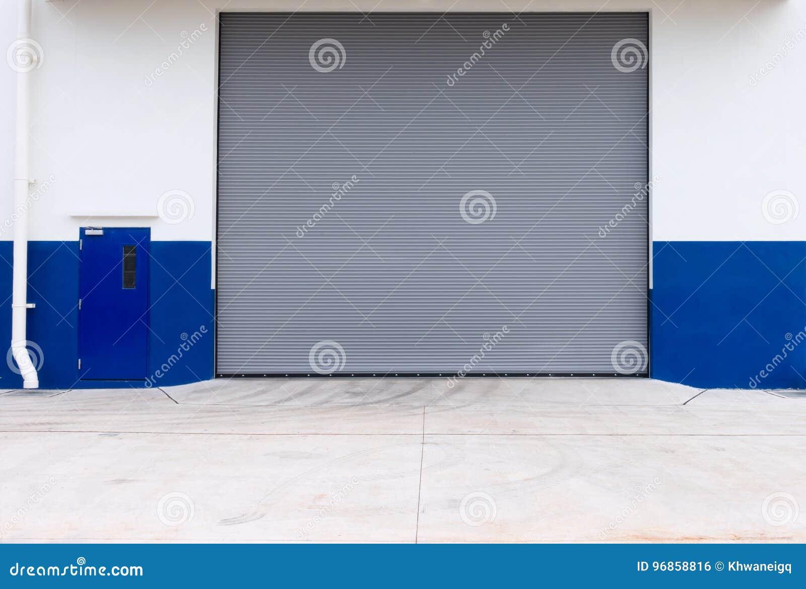 Automatic Roller Shutter Door Of Storage Warehouse Stock