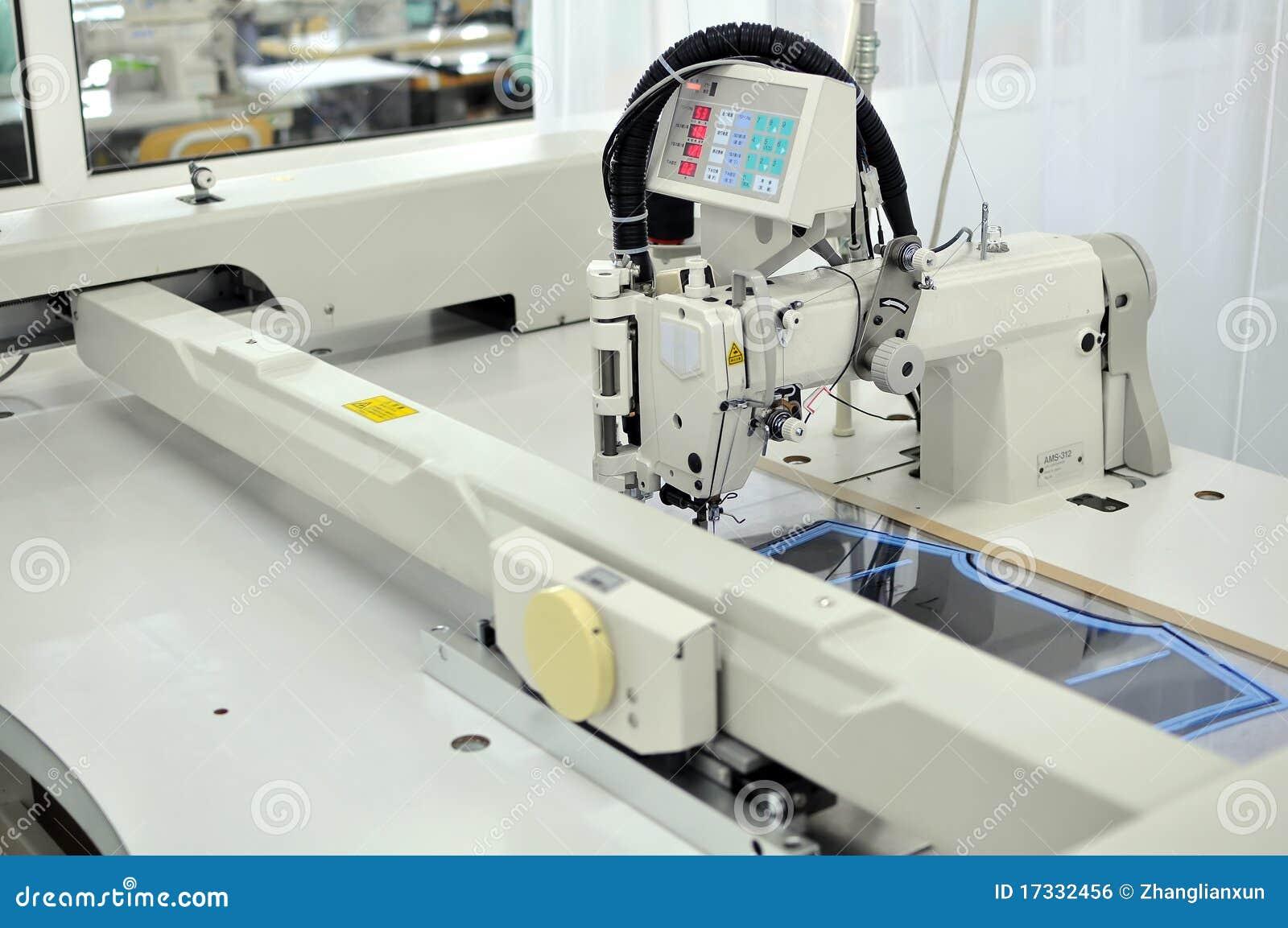 Automatic Sewing Machine Royalty Free Stock Image Image