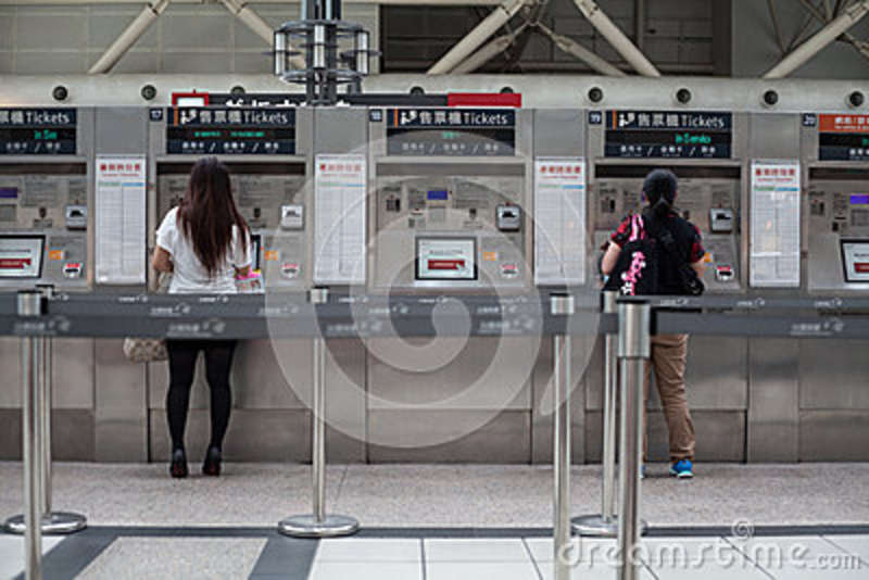 Automatic ticket selling machine