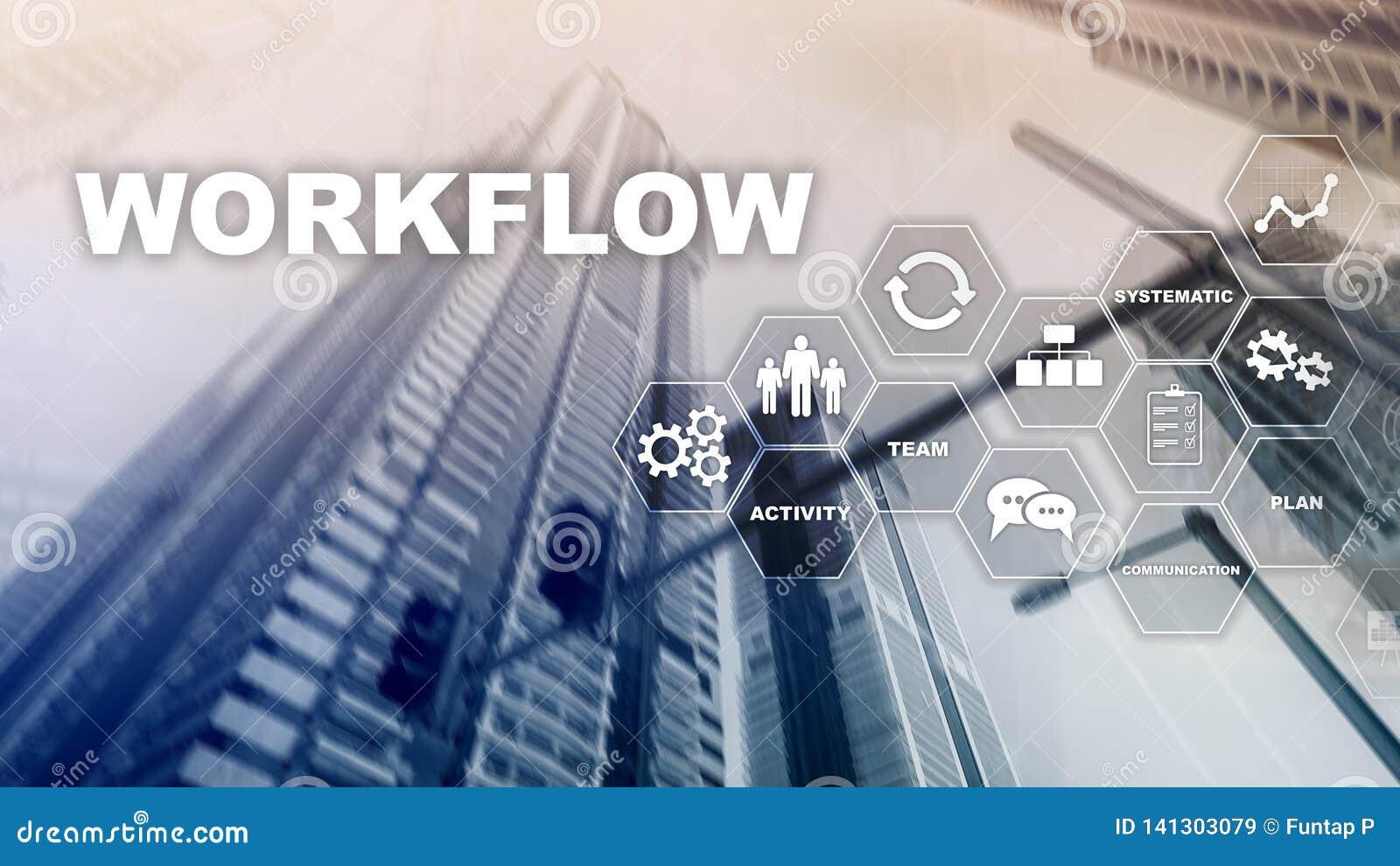 Automation des déroulements des opérations d affaires Procédé de travail