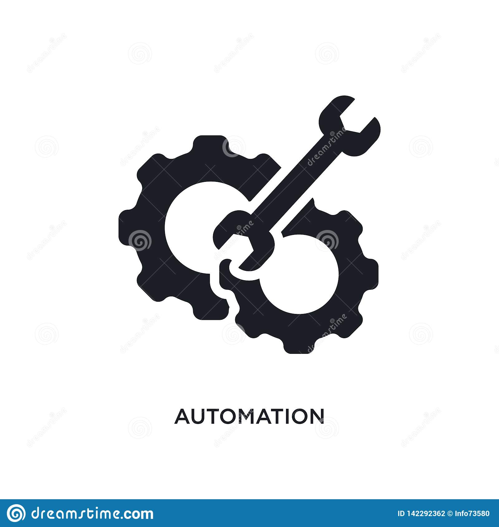automation isolated icon. simple element illustration from smart house concept icons. automation editable logo sign symbol design