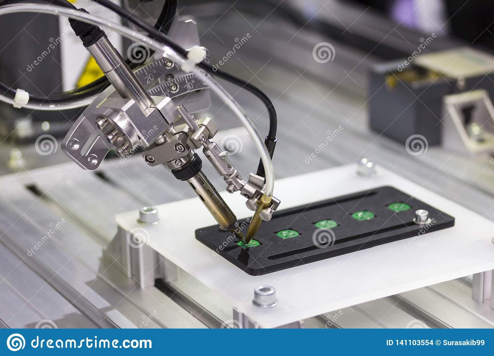 Automation Robot Welding For Assembly Circuit Board Stock