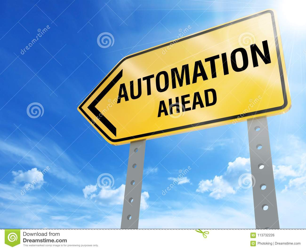 Automation sign
