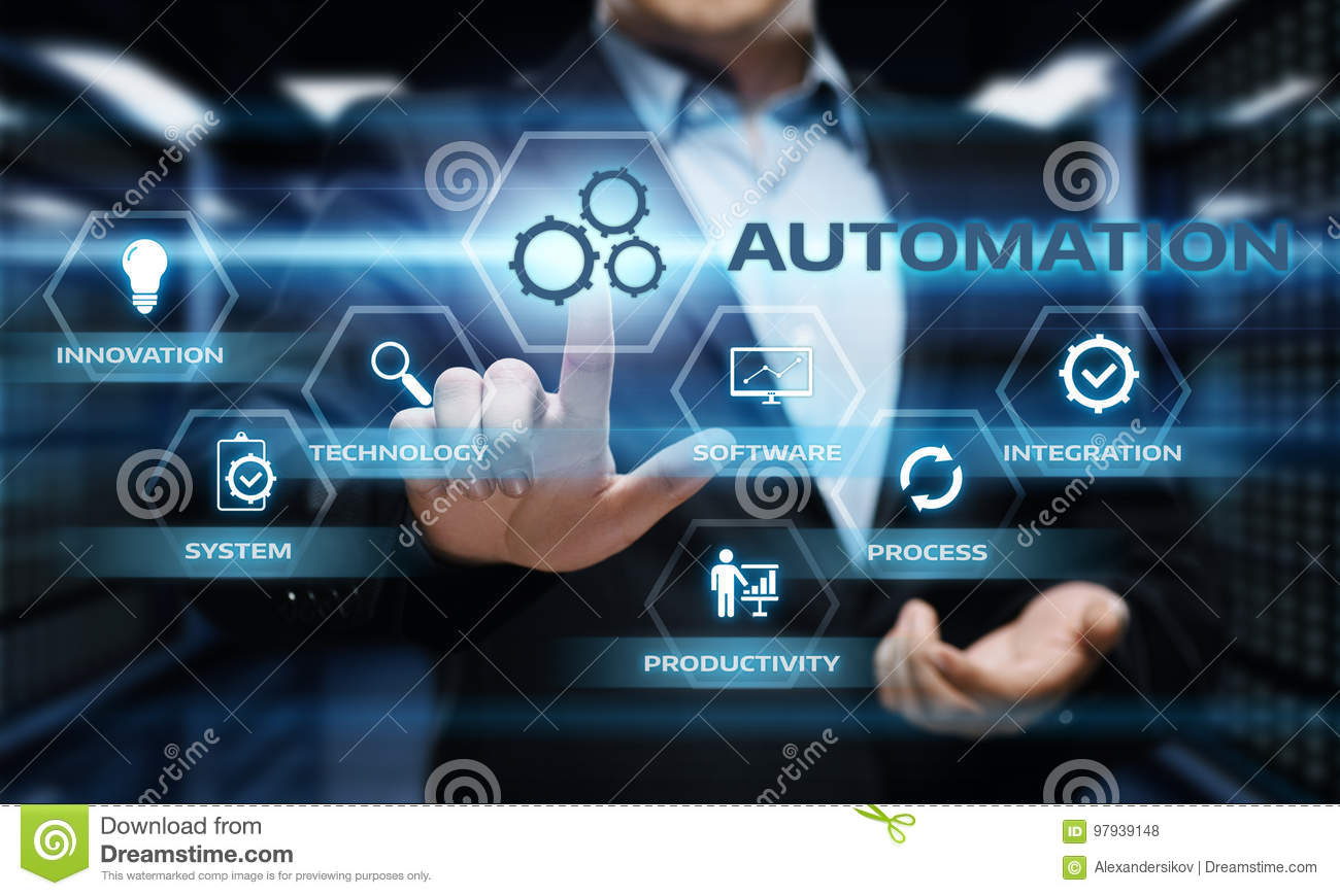 Download Automation Software Technology Process System Business Concept Stock Photo - Image of manufacture, industry: 97939148