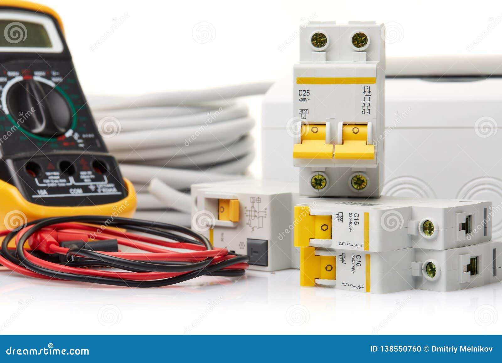 Automatische stroomonderbrekers Elektro apparatuur
