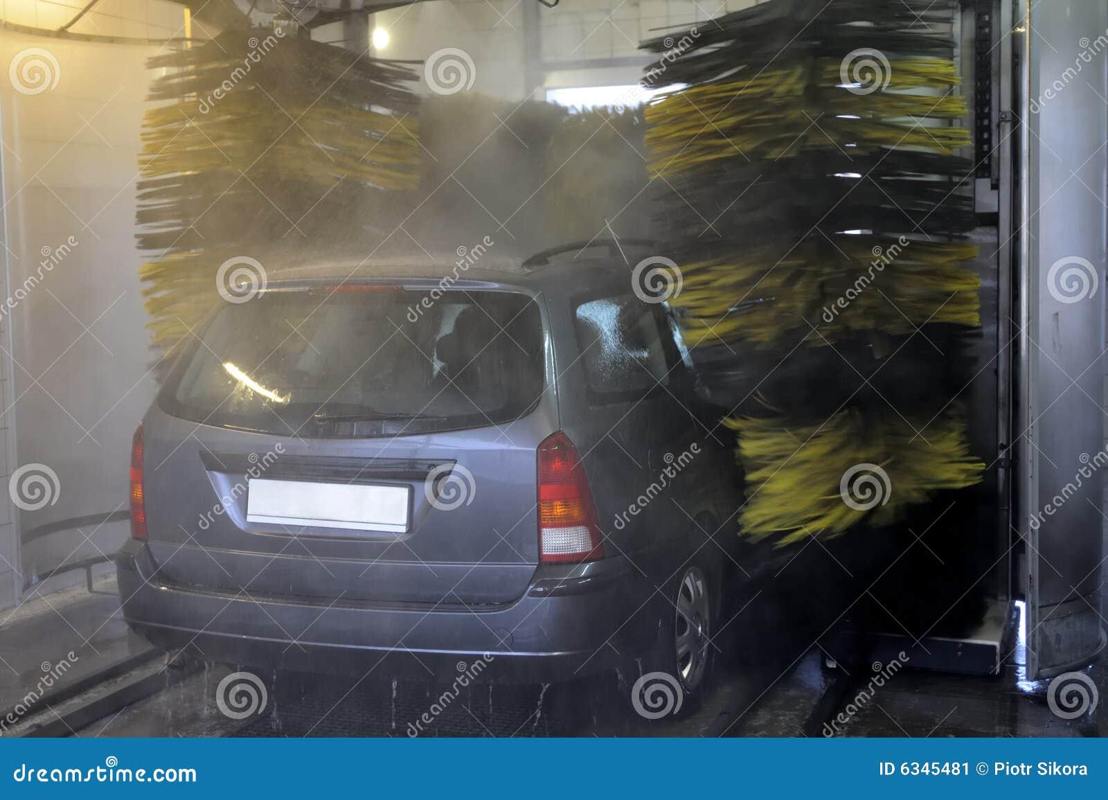 Automatisk tvätt för bilmedelwash