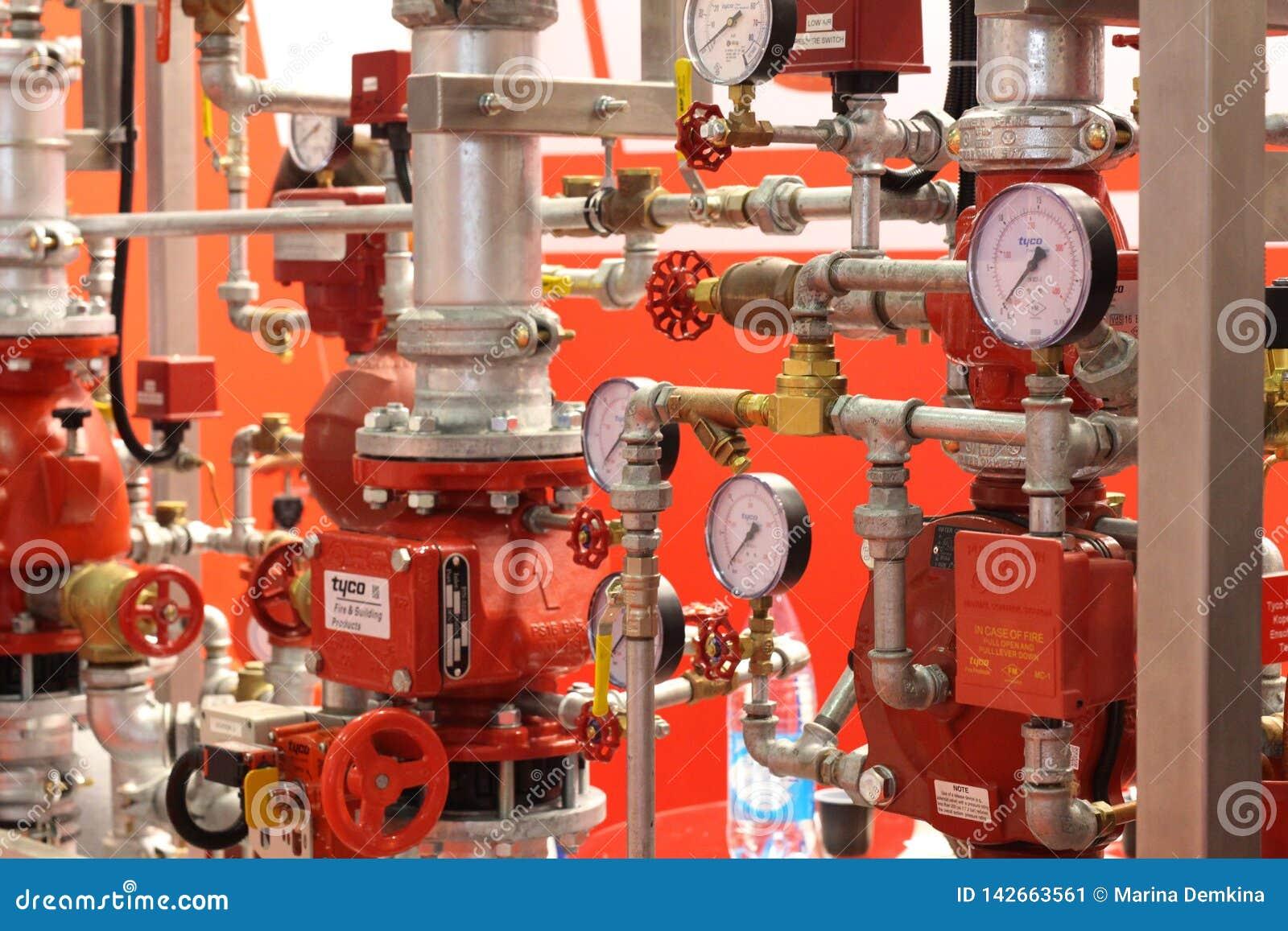 Automatisk vatten- och spridarebrand - sl