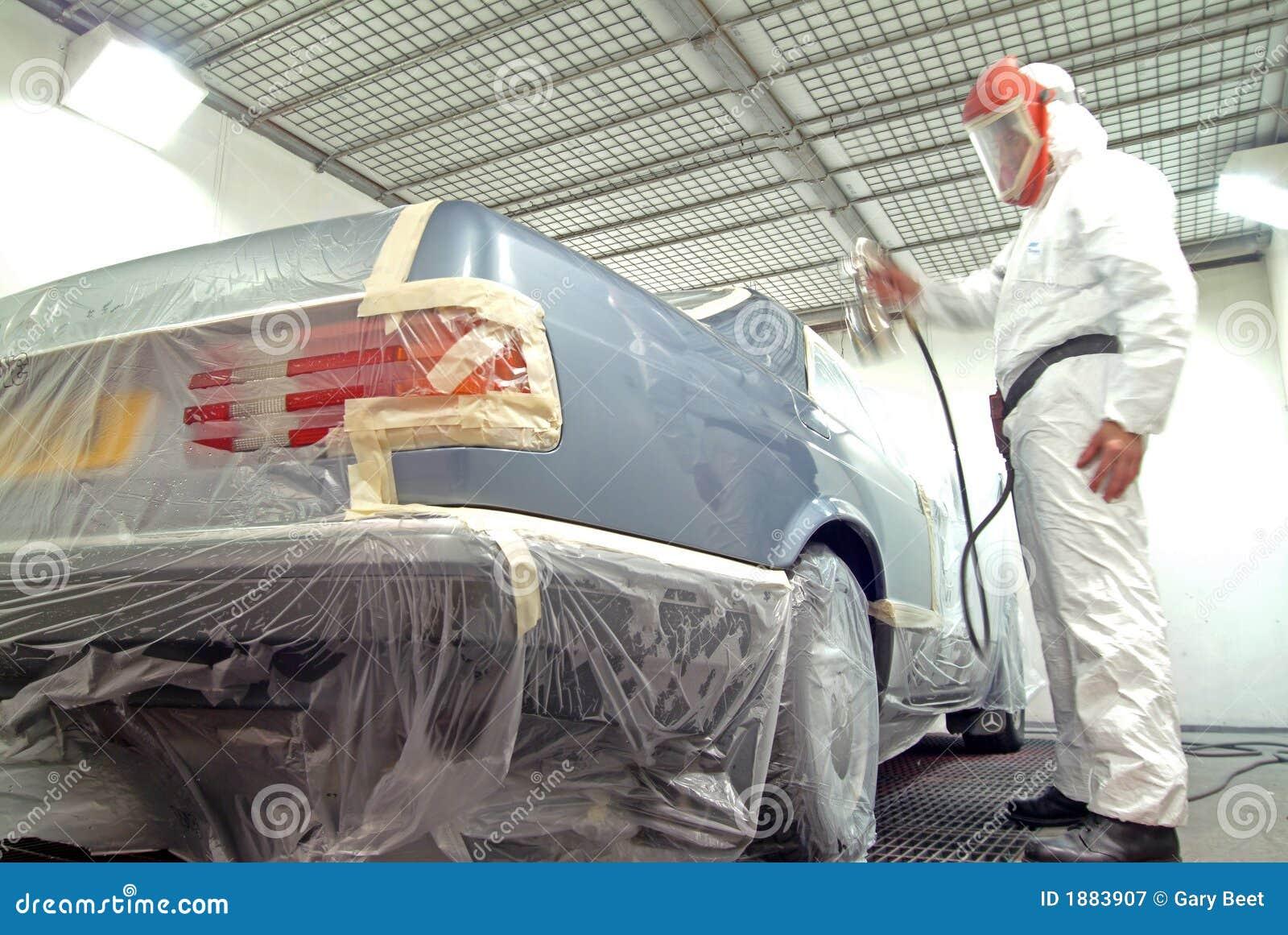 Automechaniker- und -lackspray