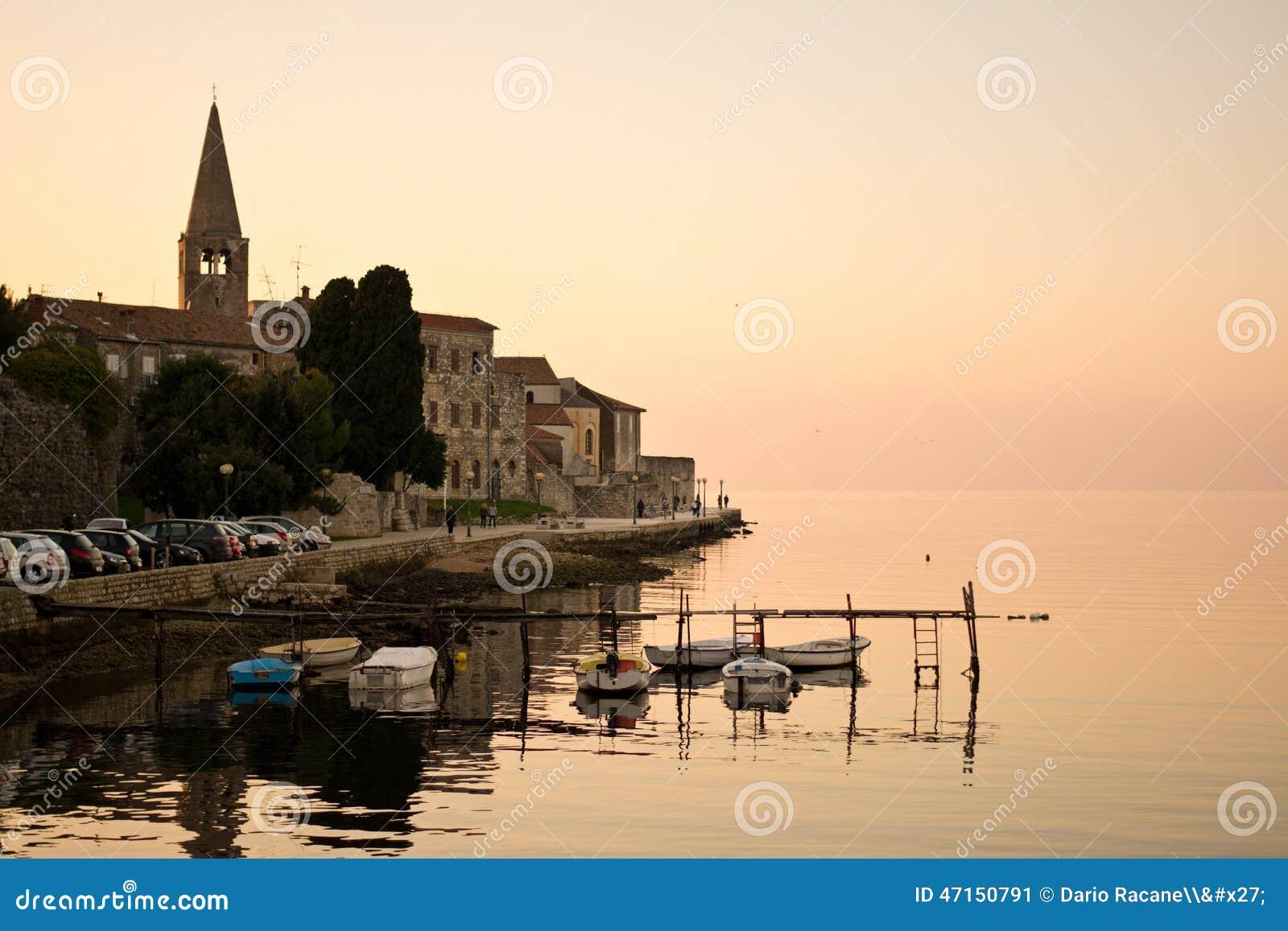 Automne dans Porec, Croatie