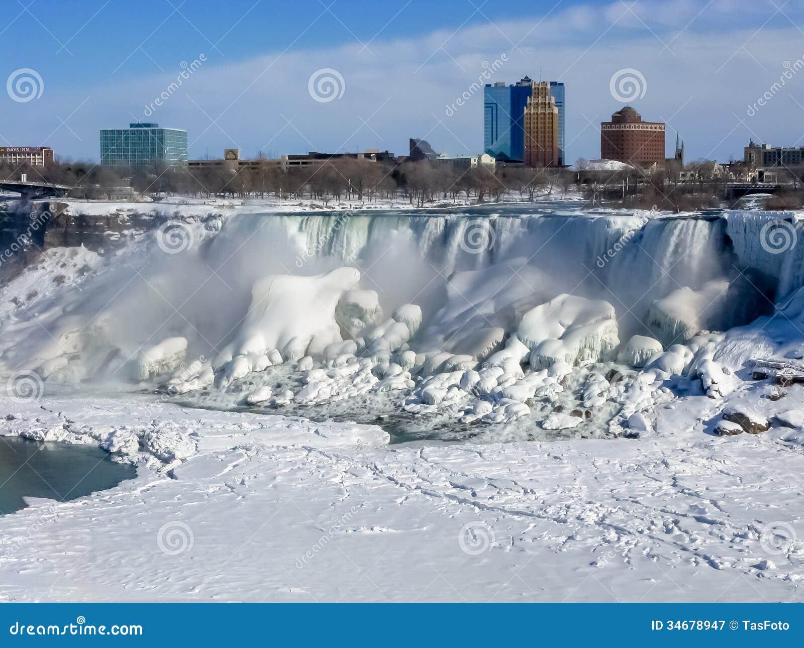 Automnes américains, la rivière Niagara
