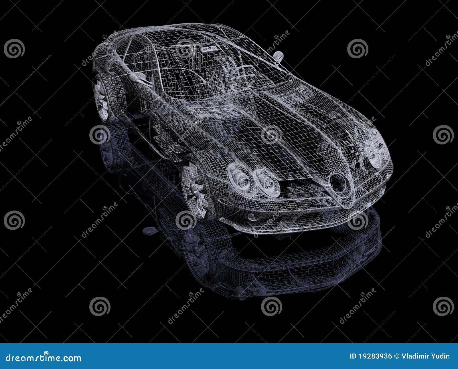 Automobil 3d