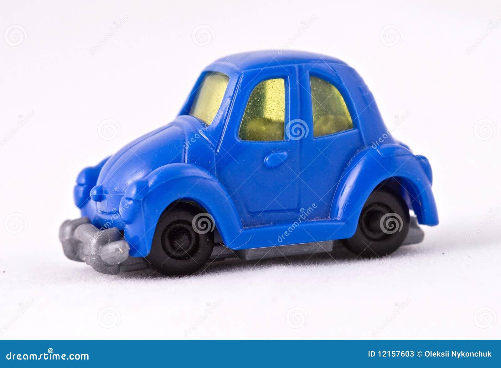 Automobile blu del giocattolo