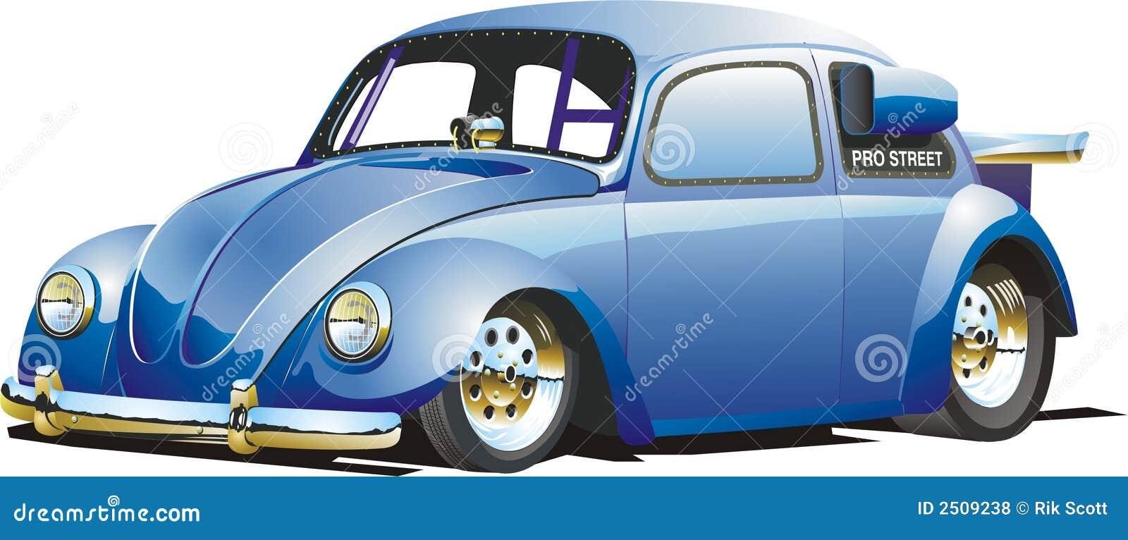 Automobile blu di resistenza