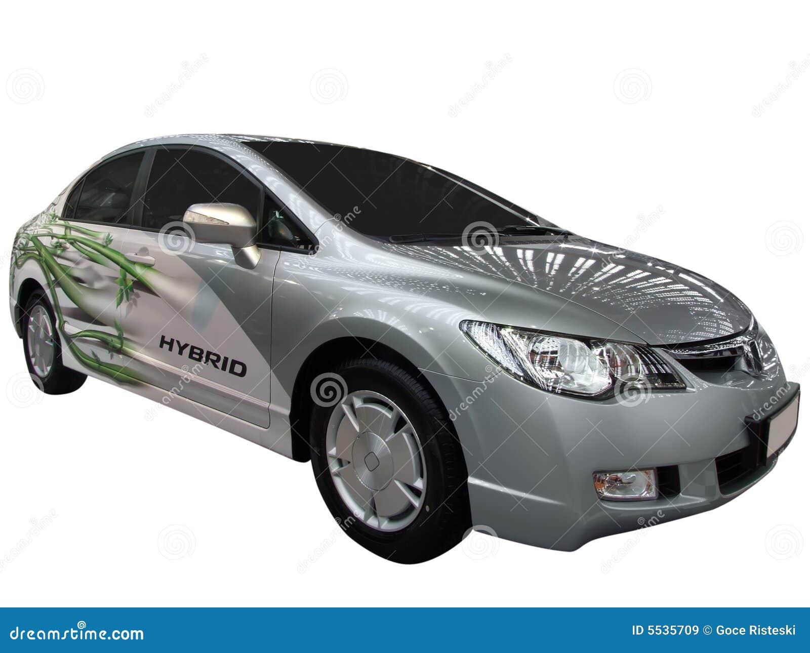 Automobile con il motore ibrido