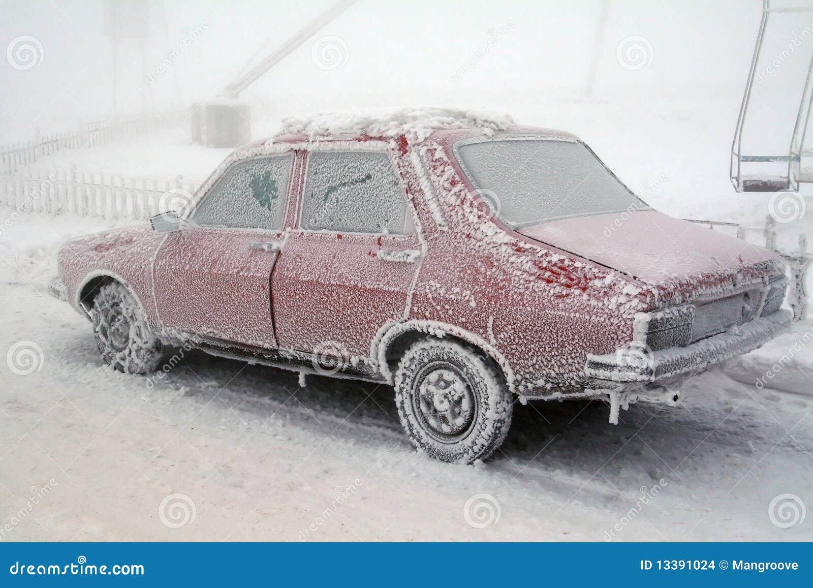 Automobile congelata