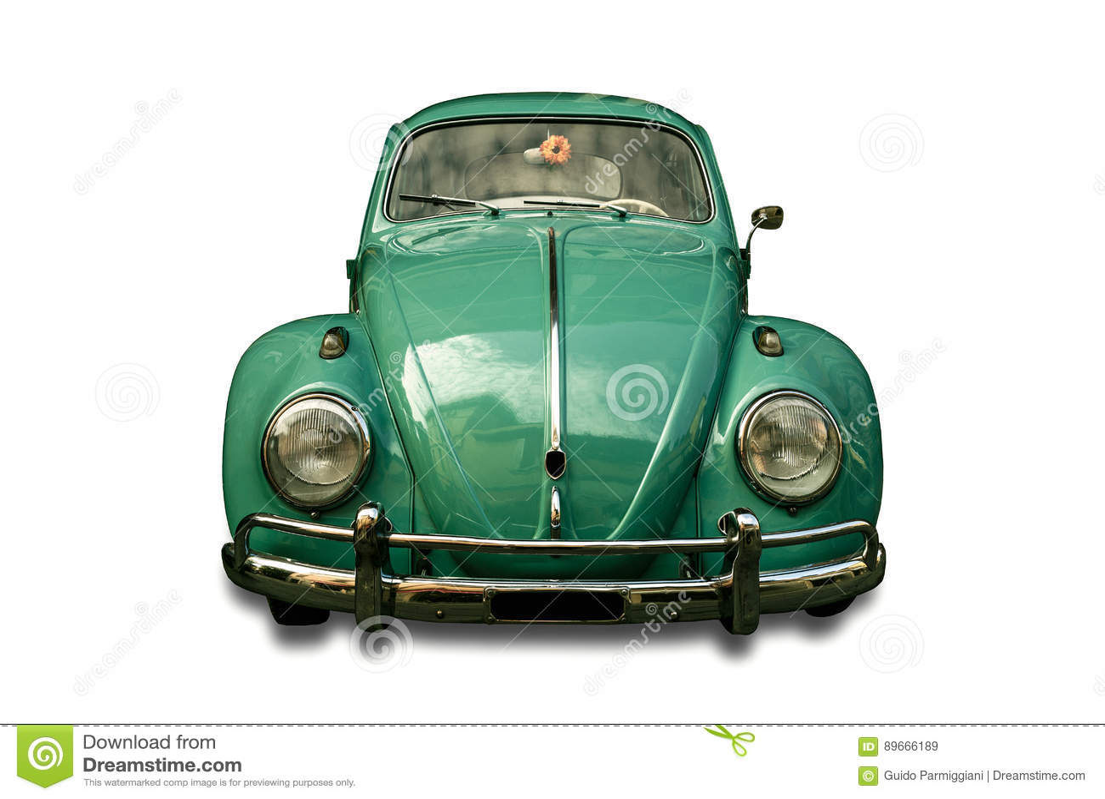 Automobile d annata isolata