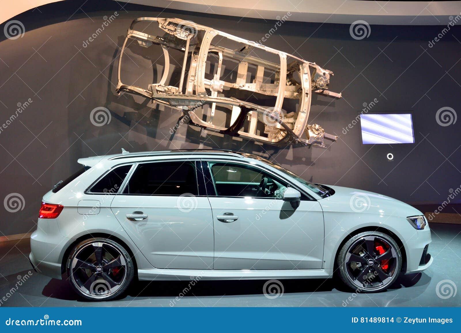 Automobile Di Audi Rs3 Immagine Stock Editoriale Immagine Di Mostra