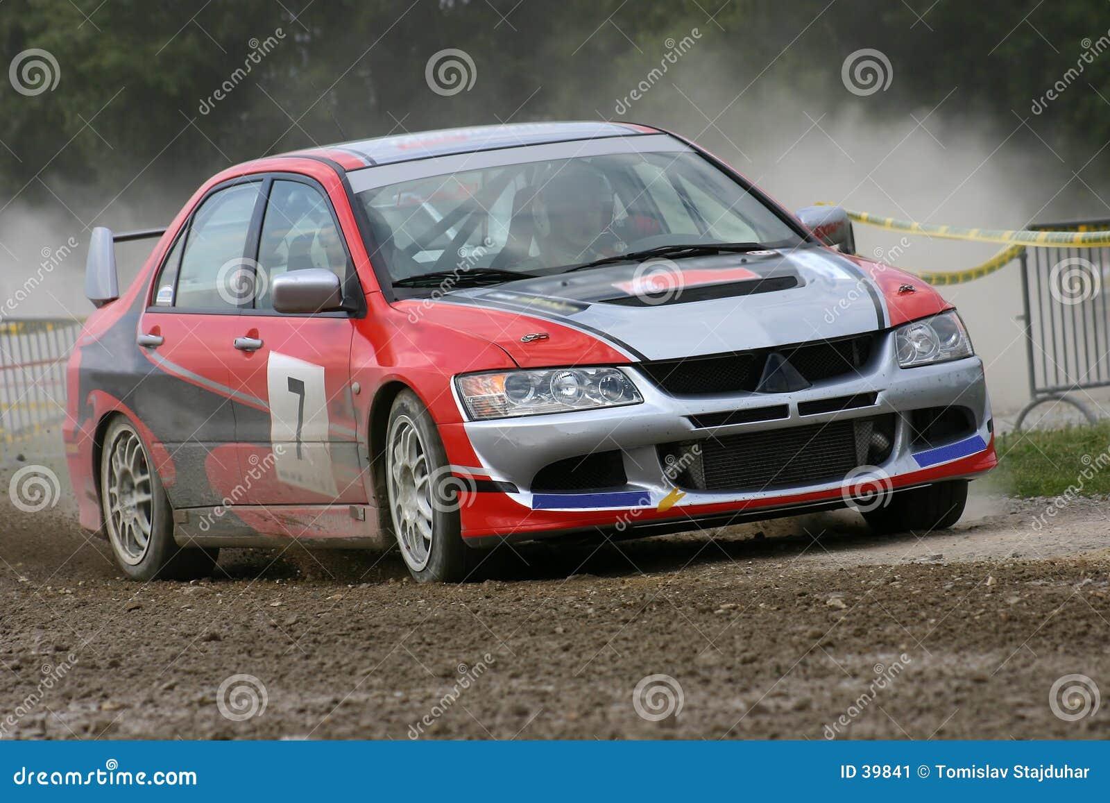 Automobile di raduno del Mitsubishi
