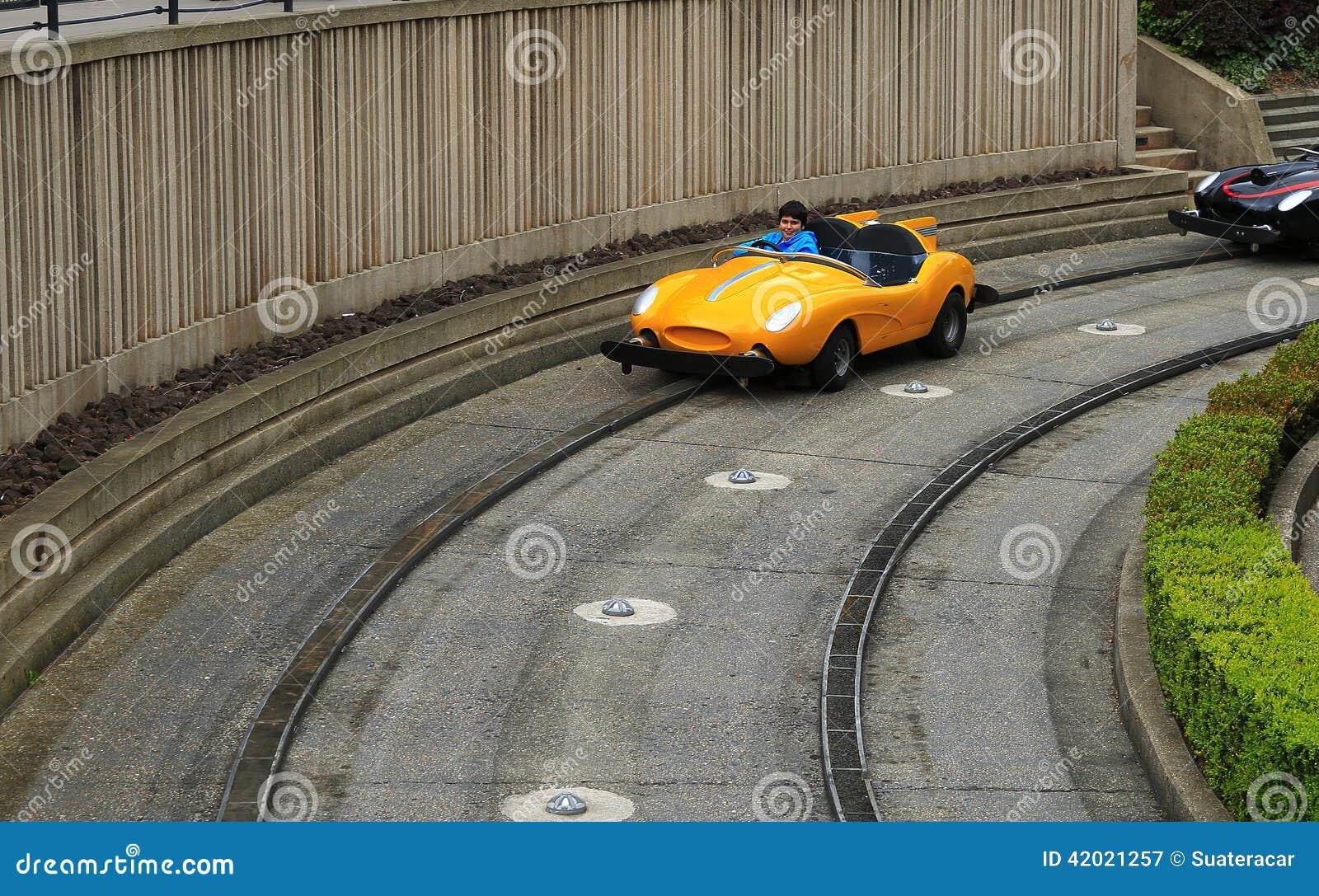 Automobile di scanalatura