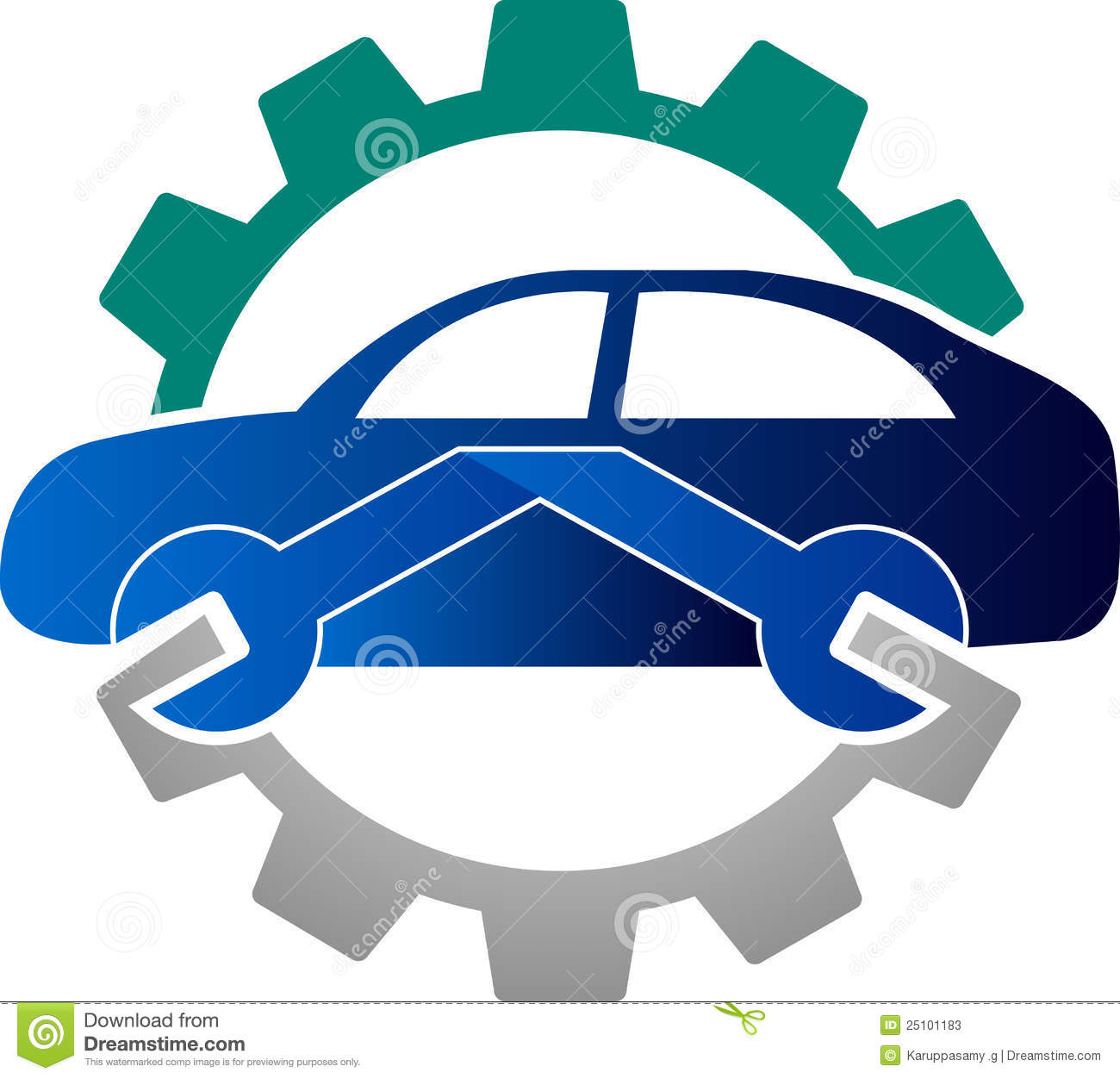 automobile mechanic logo stock vector illustration of industrial rh dreamstime com car repair log pdf car repair log sheet