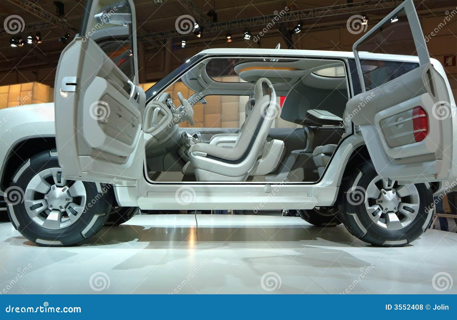 Automobile moderna di concetto